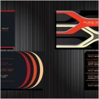 Link toBackground 2 vector business cards
