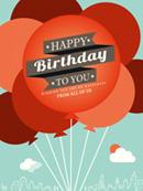 Link toBackground balloon birthday vector