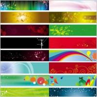 Link toBackground banner beautiful pattern vector