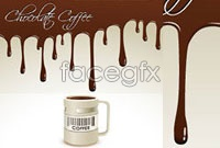 Link toBackground beautiful cafe design elements vector