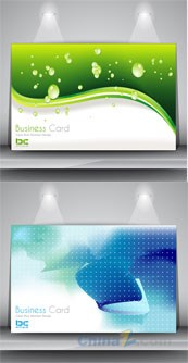 Link toBackground business card template vector