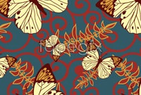 Link toBackground butterfly pattern vector