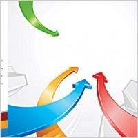 Link toBackground color arrow vector