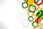 Link toBackground color square box vector