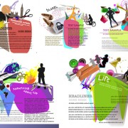 Link toBackground elements of fashion design vector