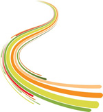 Link toBackground of colorful curve vector
