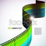 Link toBackground of film negatives vector