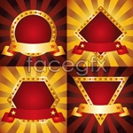 Link toBackground of glowing coat of arms vector