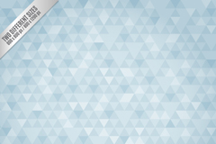 Link toBackground of light blue triangle pattern vector