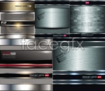 Link toBackground of reflective plates vector
