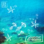 Link toBackground of the underwater world in summer vector