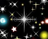 Link toBackground stars element vector