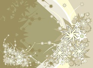 Link toBackground template with flowers design vector free