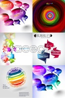 Link toBackground three-dimensional shapes vector