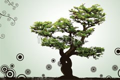 Link tovector pattern dot trees Background