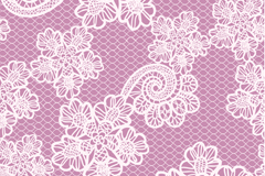 Link toBai lei end of silk flowers and purple background vector