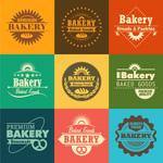 Link toBake cake flags vector