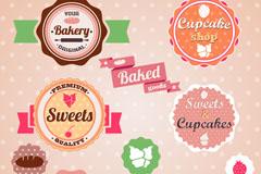 Link toBaked desserts tag vector