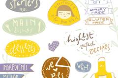 Link toBaking stickers cartoon vector