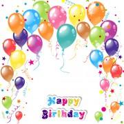 Link toBalloon ribbon happy birthday background 04 free