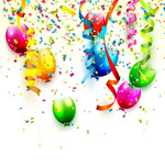 Balloons and torn vector