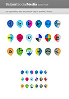 Link toBaloon social media icon pack