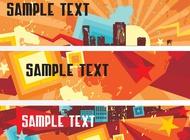 Link toBanner templates vector free