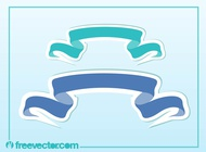 Link toBanners stickers vector free