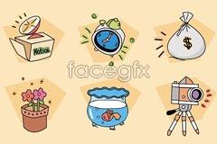 Link toBanzzoc korea cartoon style icon vector