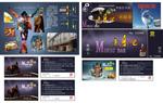 Link toBar card poster psd