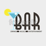 Link toBar logo vector
