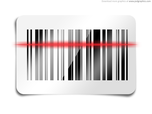 Link toBarcode scan icon (psd)