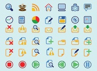 Link toBasic icons vectors free