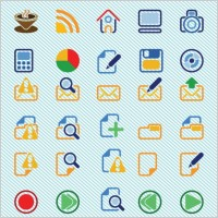 Link toBasic icons vectors