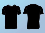 Link toBasic t-shirt template vector free