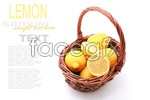 Link toBasket of lemons psd