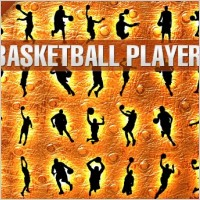 Link toBasketball players silhouettes