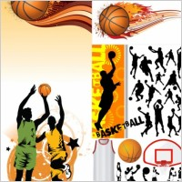 Link toBasketball silhouette vector
