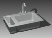 Link toBathroom -bathtub 002 3d model