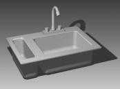 Link toBathroom -bathtub 002 3d model