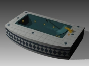 Link toBathroom -bathtub 007 3d model
