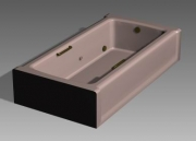 Link toBathroom -bathtub 008 3d model