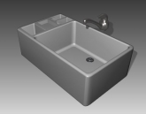 Link toBathroom -bathtub 010 3d model