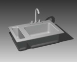 Link toBathroom kitchen supplies  001 - occupants��67�� 3d model