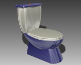 Link toBathroom -toilets 001 3d model