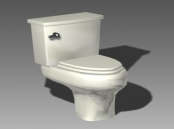 Link toBathroom -toilets 003 3d model