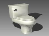 Link toBathroom -toilets 003 3d model