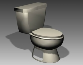 Link toBathroom -toilets 004 3d model