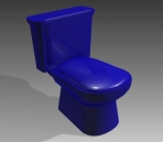 Link toBathroom -toilets 007 3d model