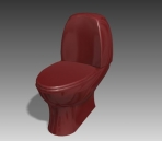 Link toBathroom -toilets 008 3d model